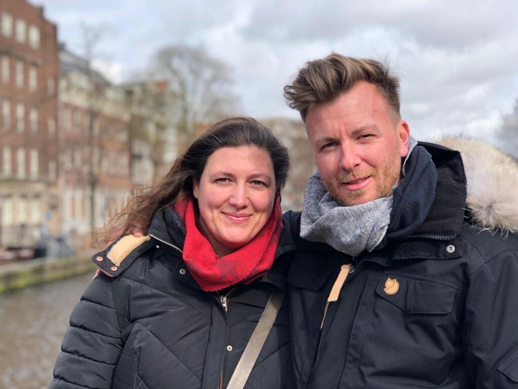 Bild Foto links Ilka Martin rechts Jens Martin Frau und Mann